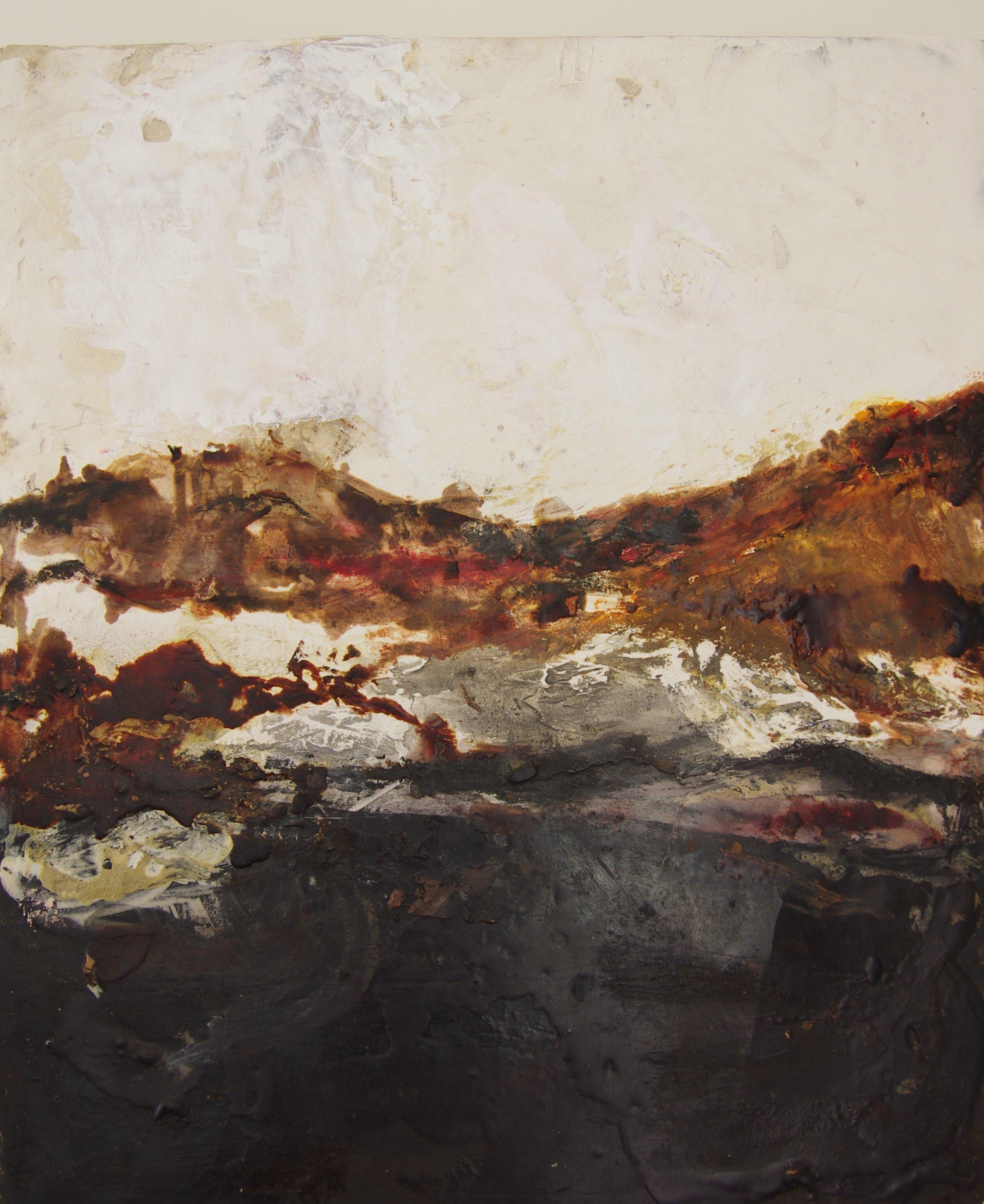 Wax, oil, resin on canvas  £600