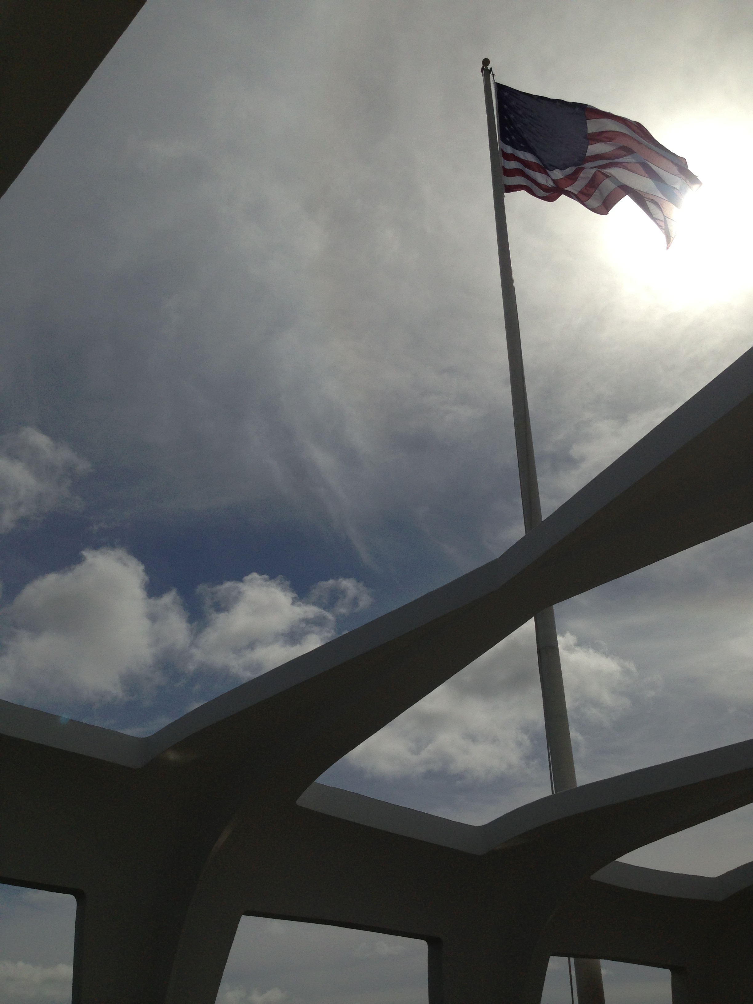 Flag over Arizona.JPG