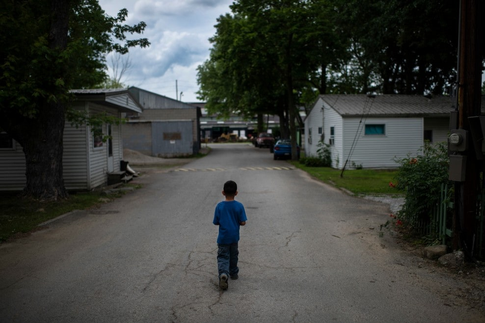 """Are you alone now?"" - After raid, immigrant families are separated in the American heartland."