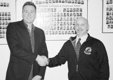 Frost Encouraging Entrepreneurial Spirit - CORNWALL - Brock Frost, a local real-estate investor and community man, is setting up scholarships at two local schools to be awarded annually to students displaying an entrepreneurial spirit upon graduation.