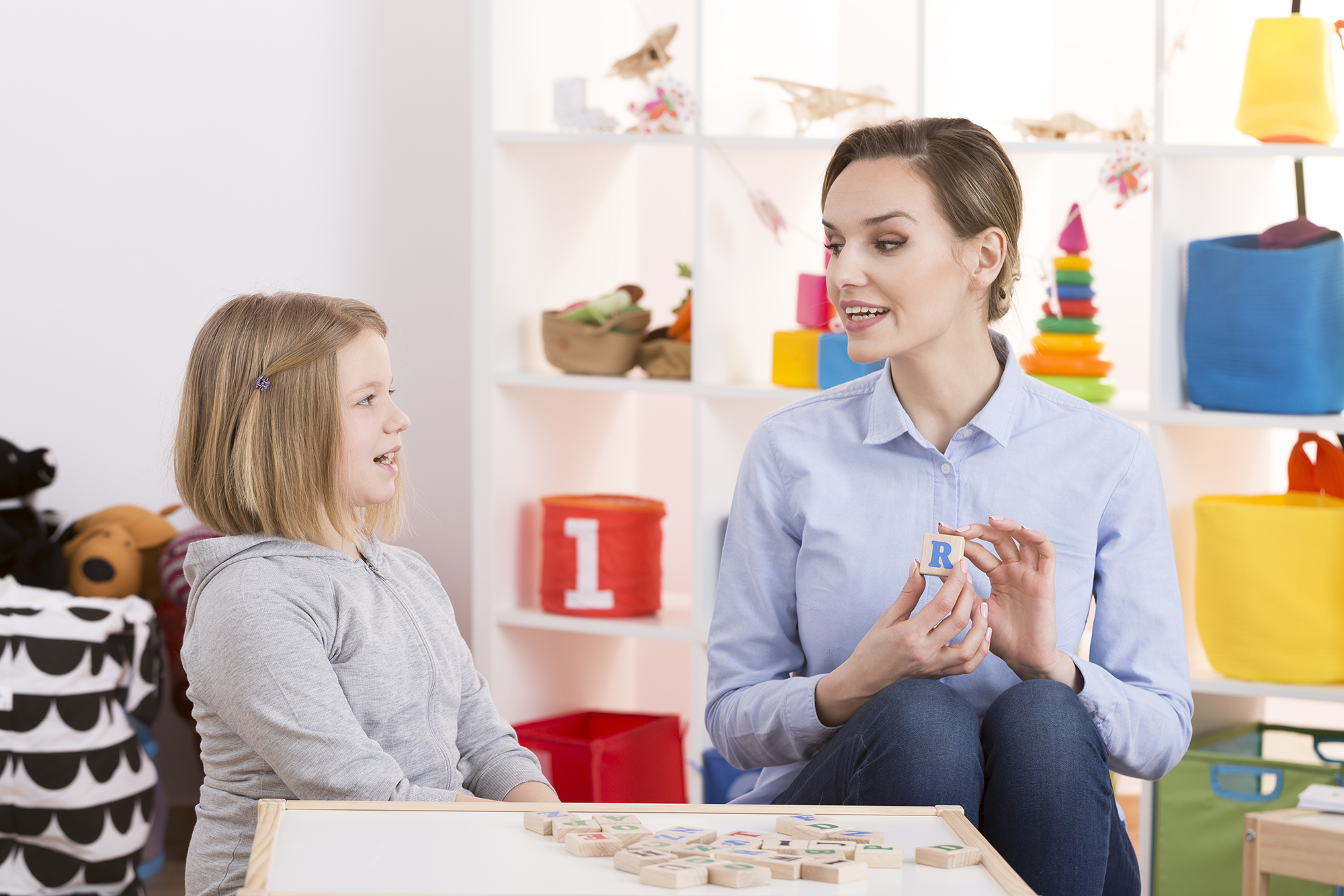 Echolalia and Expressive Communication During Speech Therapy