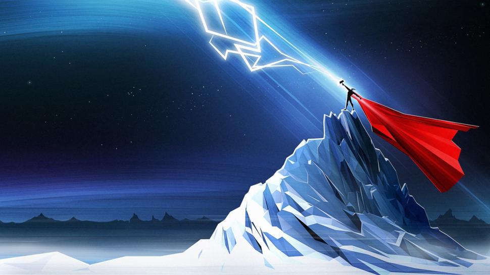 thor-hammer-mjolnir-marvel-lightning-polygon-art-night-hd-1080P-wallpaper-middle-size.jpg