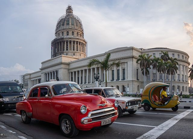 Multi generations here. A 50s American car, a 70s Russia Lada, a more modern van and a Coco Taxi. Cuba in a nutshell . www.cubaphototravel.com Engage l Explore l Capture Follow: @cubaphototravel / Tag: #cubaphototravel . . . . . . . #Cuba #loves_cuba #havana #vinales #trinidad #cienfuegos #photographyislife #getlost #keepexploring #theglobewanderer #exploretheworld #neverstopexploring #travelstagram #letsgosomewhere #roamtheplanet #welltravelled #justbackfrom #chasinglight #openmyworld #bestvacations #travelstoke #travelphotographer #traveldeeper #welltravelled #stayandwander