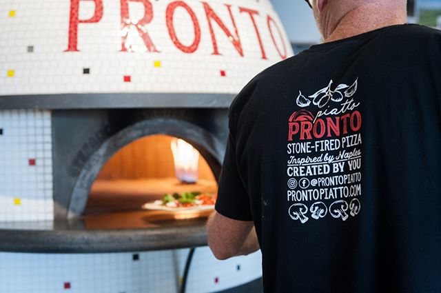 Friday's here... time for pizza! ⏰🍕 Check our hours at the link in our bio and get 𝓯𝓲𝓻𝓮𝓭 𝓾𝓹 to create your own stone-fired masterpiece! ⠀⠀⠀⠀⠀⠀⠀⠀⠀⠀⠀⠀ #pizzeria #stonefired #firedup #pronto #italianfood #pizza #instafood #pizzatime #instapizza #pizzalove #pizzaonpei #youwantityougotit #pizzaplease #pizzayourway #friyay