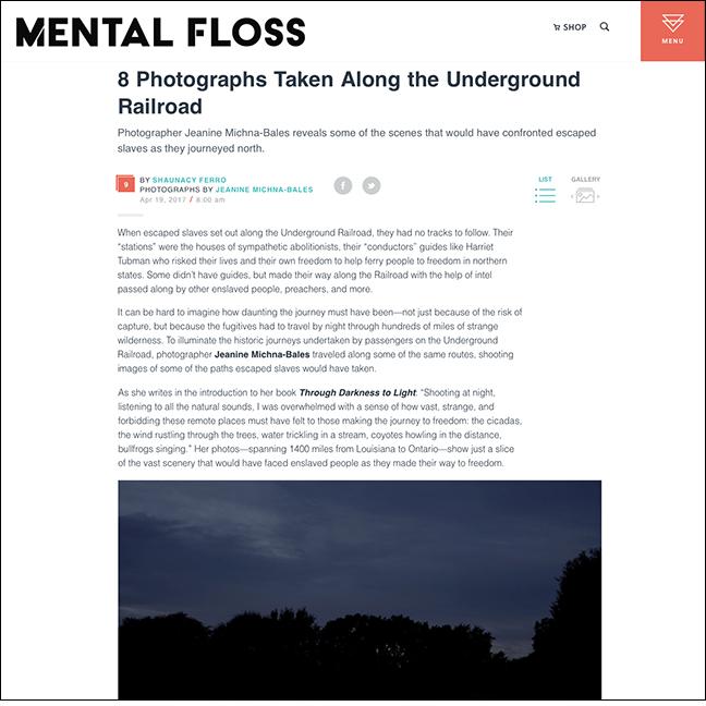 MENTAL FLOSS   by Shaunacy Ferro April 19, 2017