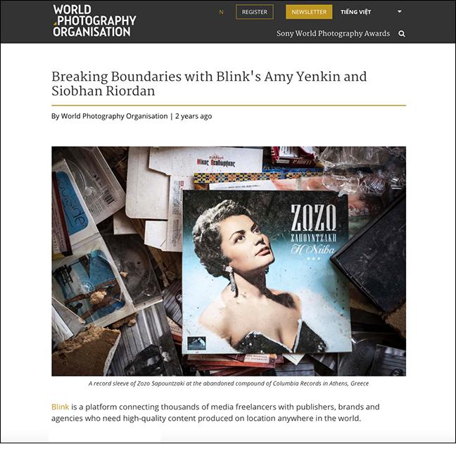 WORLD PHOTOGRAPHY ORGANISATION   February 2017