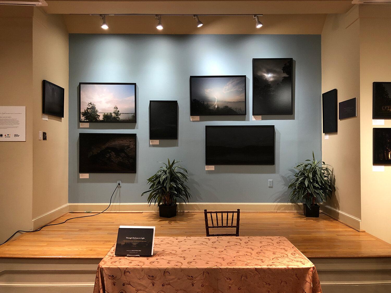 Through Darkness to Light  traveling exhibition  at the Alexandria Black History Museum, Alexandria, VA, 2019