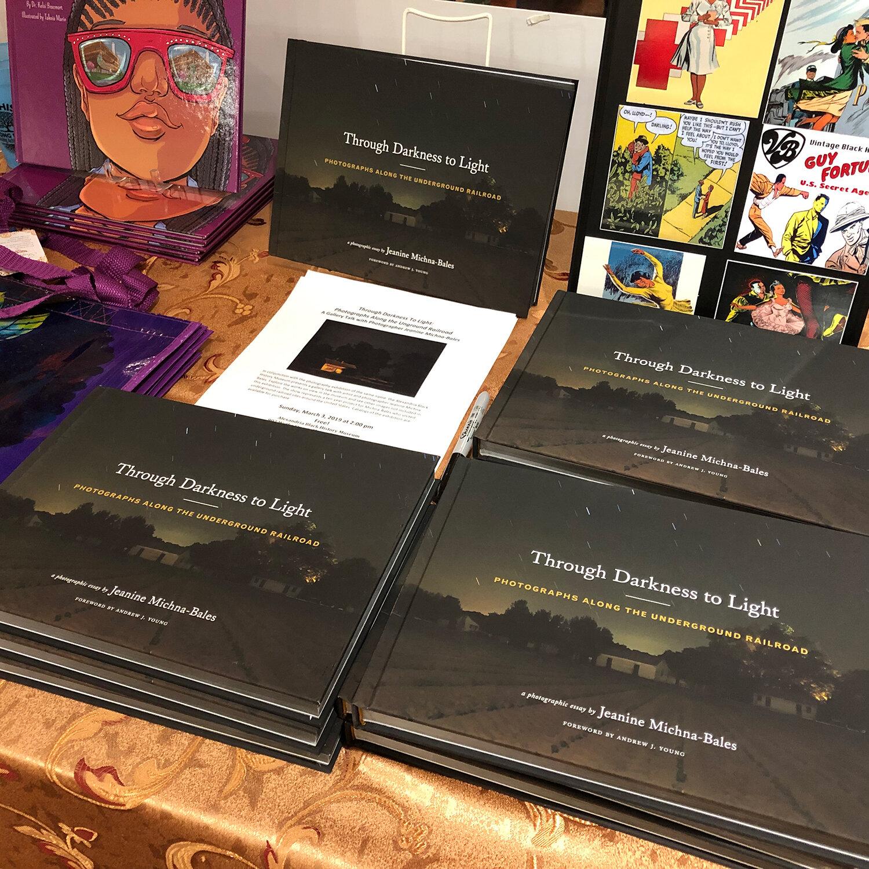 Artist Talk and Book Signing at the Alexandria Black History Museum,  Alexandria, VA, 2019
