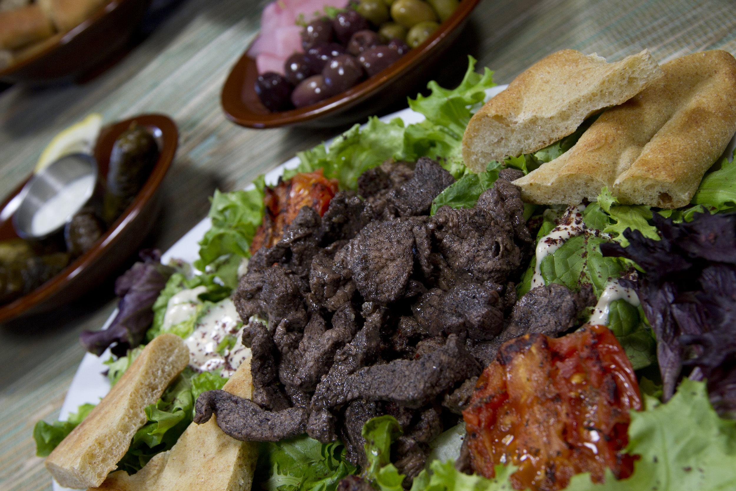 Beef Shawermah Platter