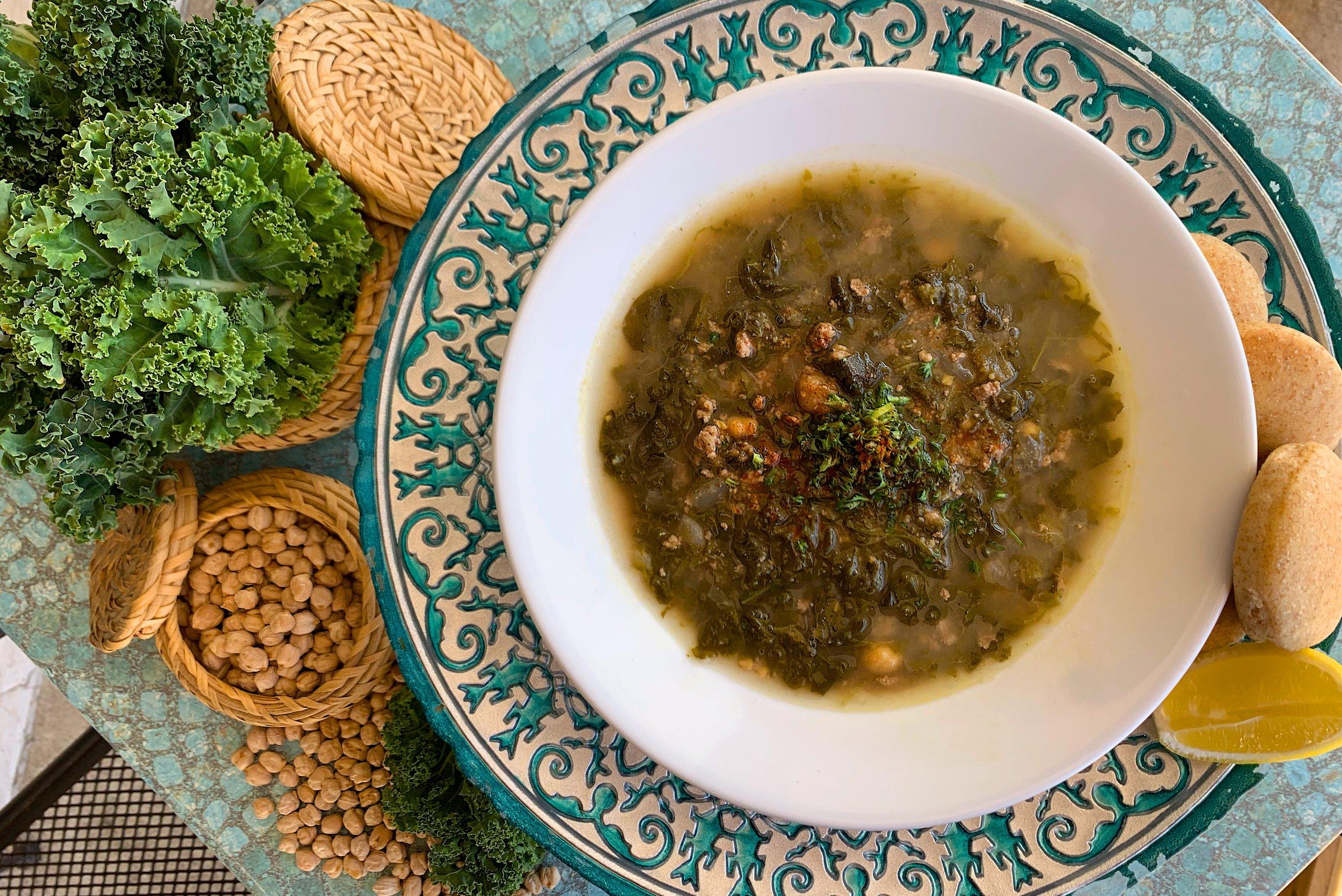 Kale & Lamb Soup