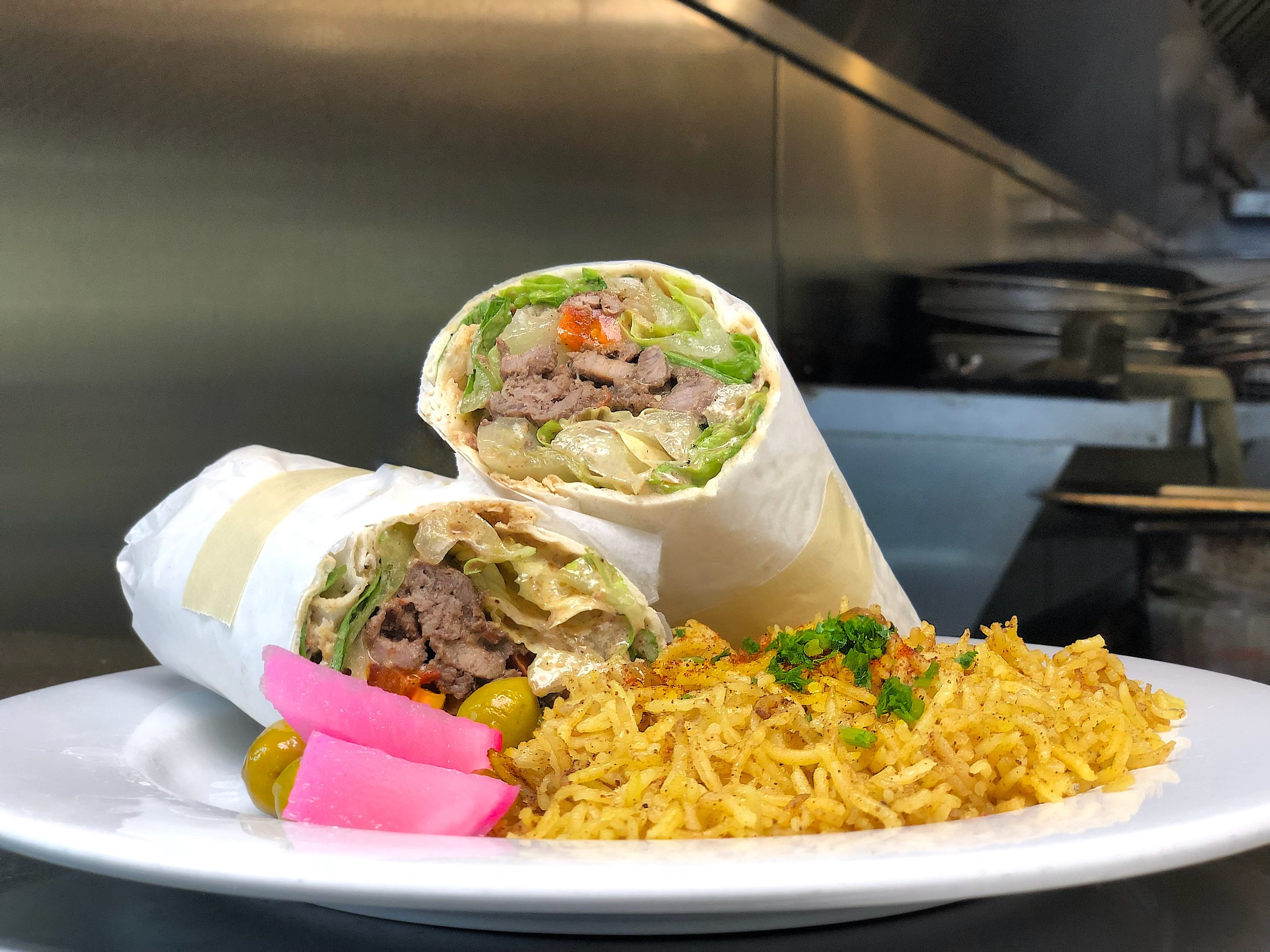 Beef Shawermah Wrap