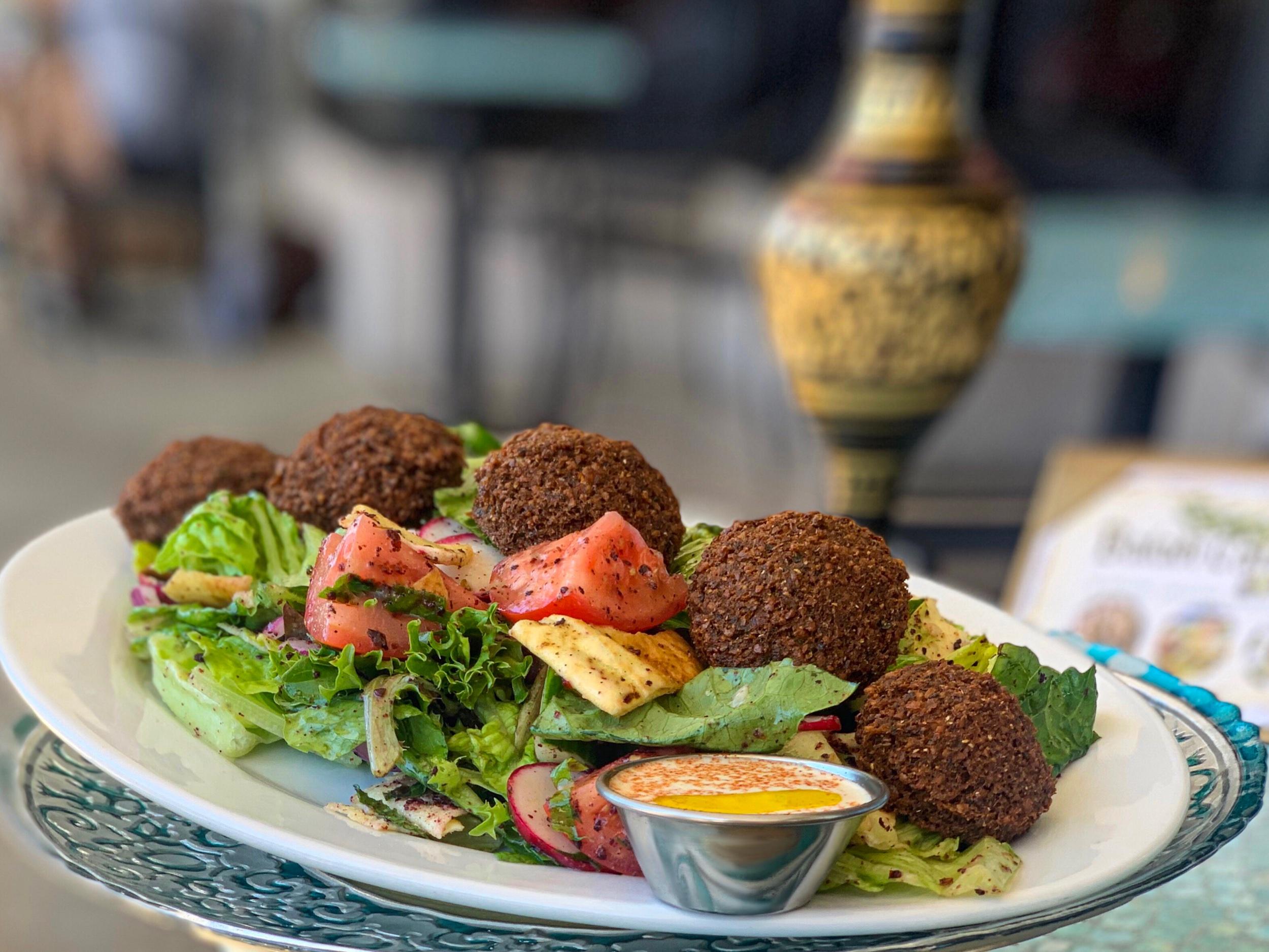 Falafel Salad Platter