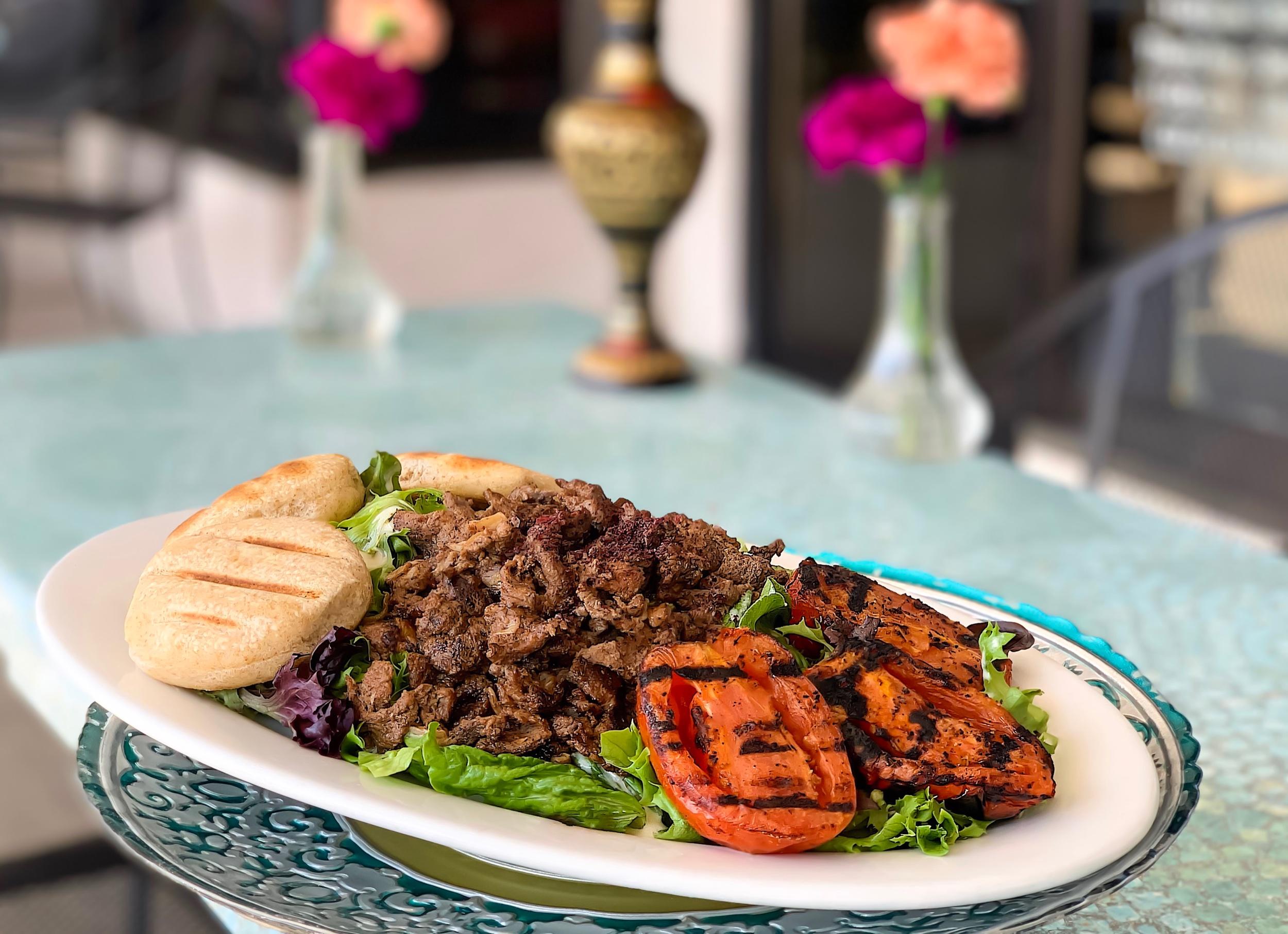 Lamb Shawermah Platter