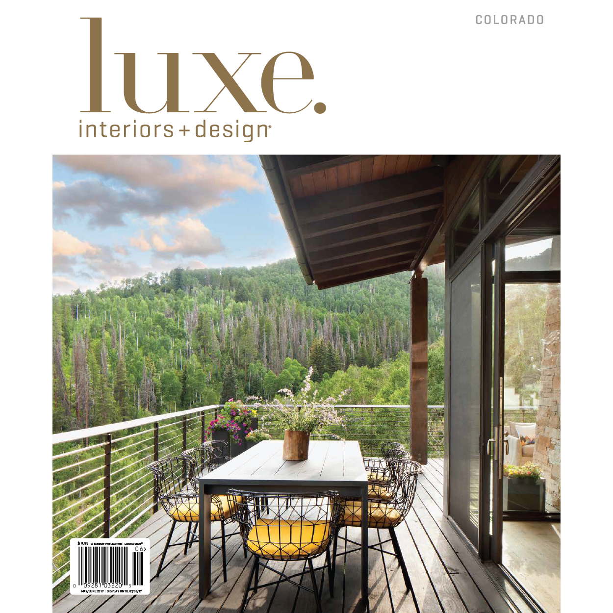 Luxe Interiors + Design May/June 2017