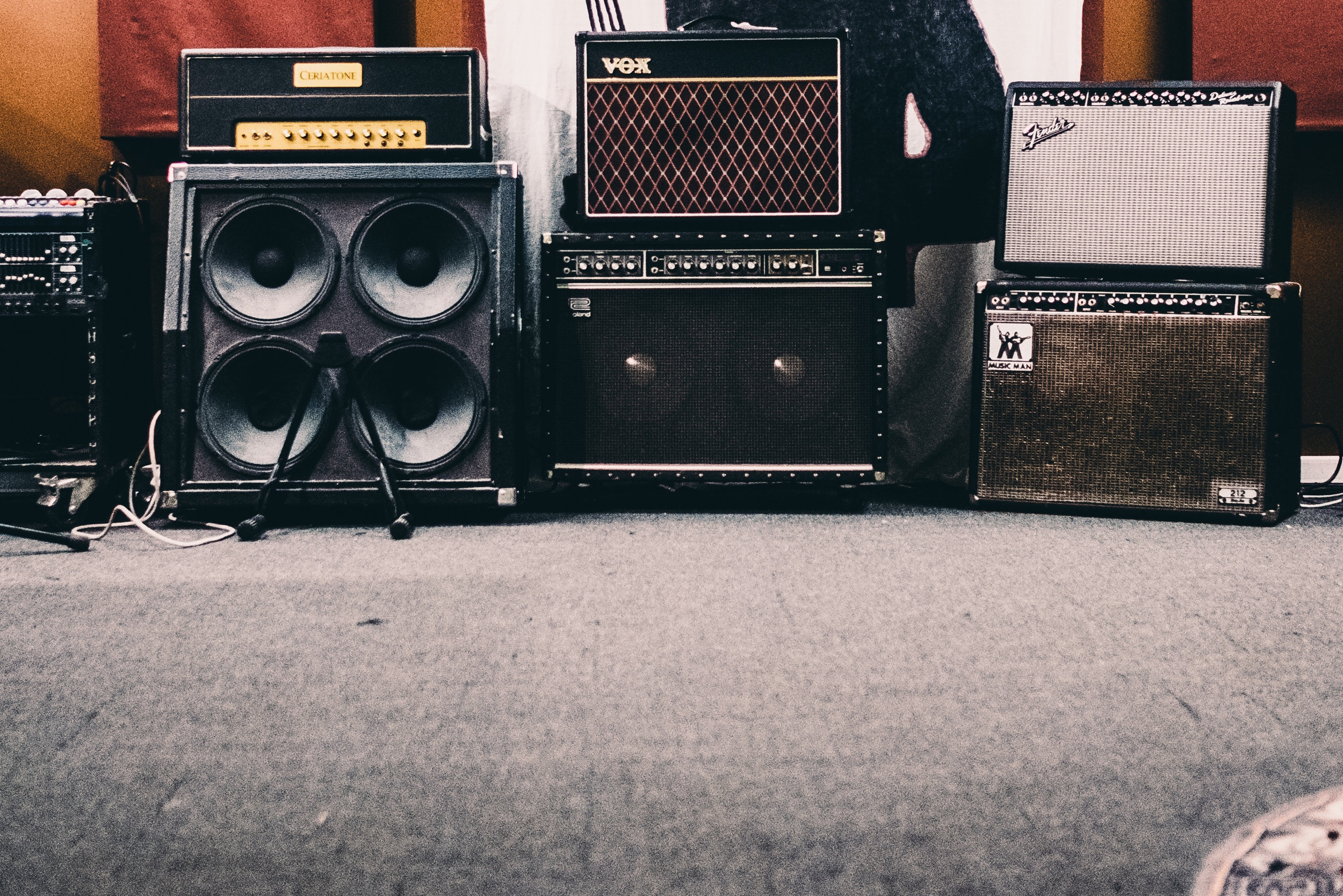 Additional Services - Appraisals, Tube Amp Repairs, Voice Lessons, Studio Sessions