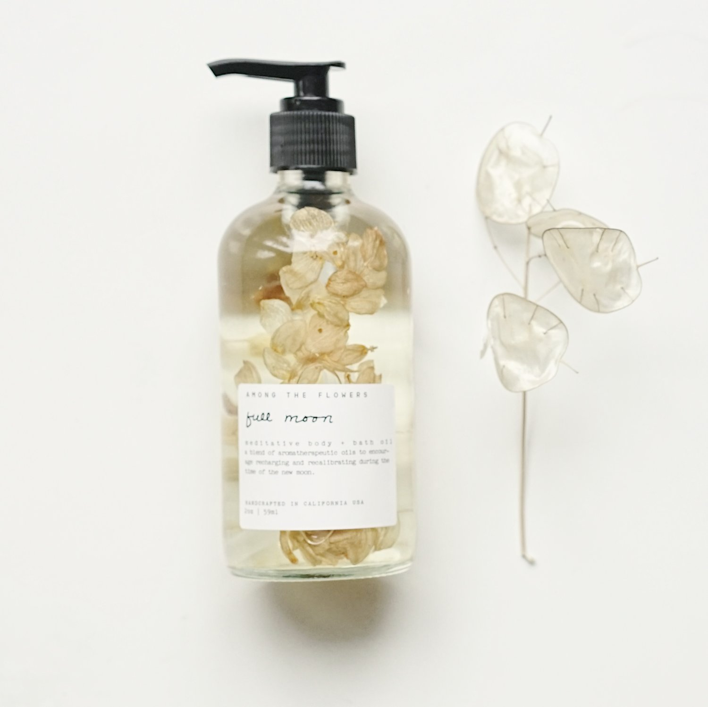 Among the Flowers: Full Moon Body + Bath Meditation Oil