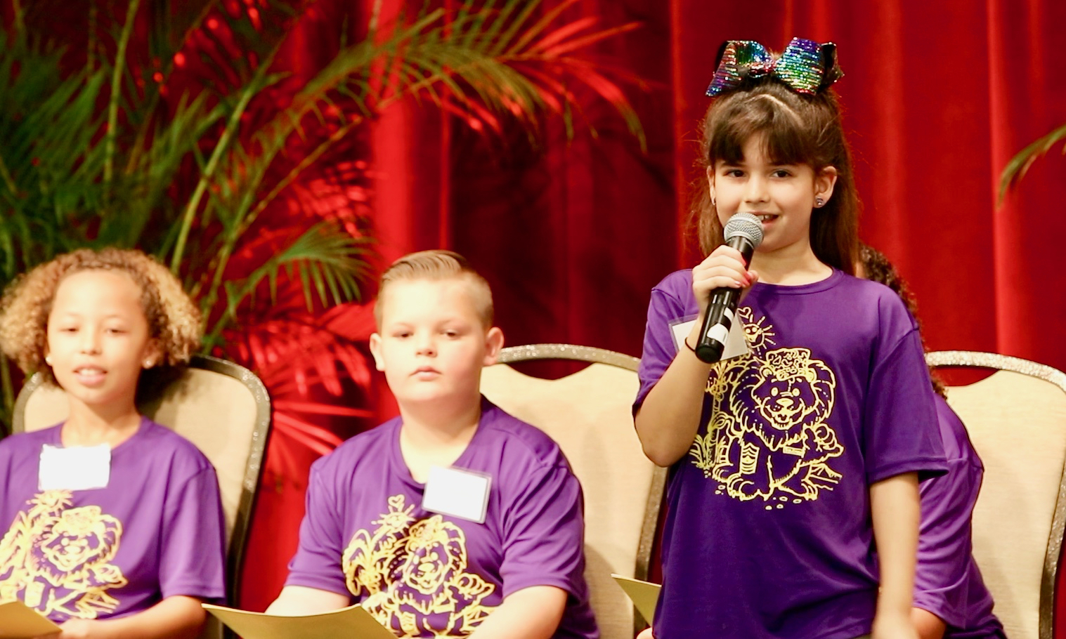 Solomon Elementary students shared why they choose to become Aloha Ambassadors.