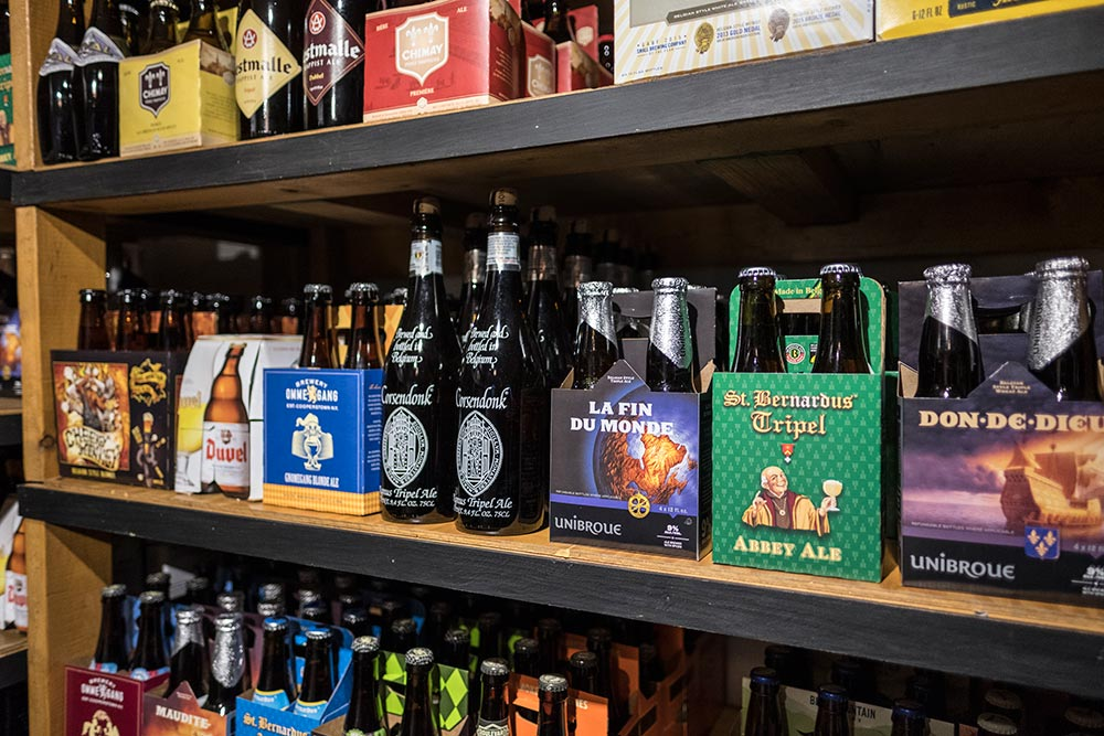 Craft Beer - Our beer room is stocked with the best of what we can find from our booming local beer scene and from around the world.