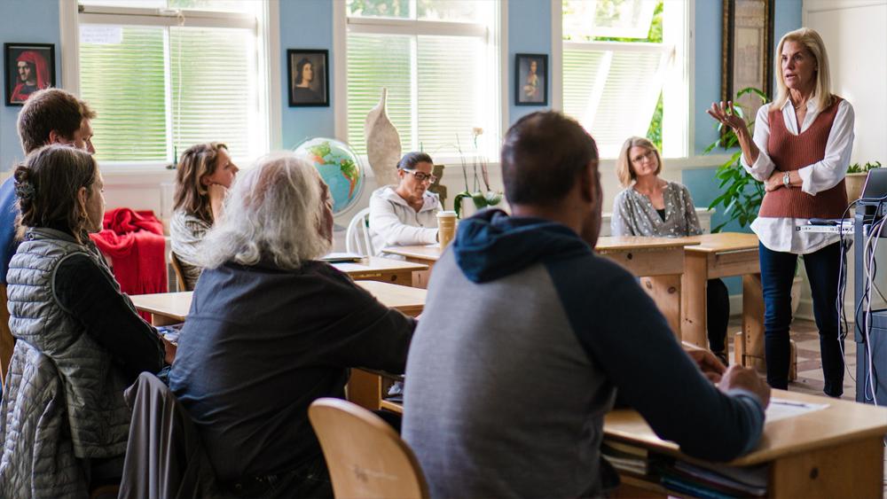 Jennifer Grellman teaching a parent class.jpg