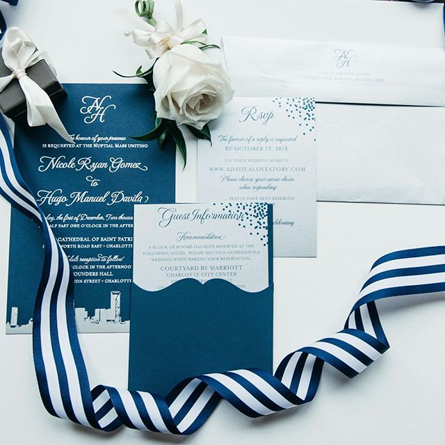 Thankful that the super cold snap has ended and we are suddenly bathed in 65+ weather again!!! So confused knowing what to wear...crazy how we went from freezing one day to tshirt weather the next - no wonder I got a cold! . . . . . #wedding #weddingstationery #weddinginvitations #blue #nc #ncweddingphotographer #scweddingphotographer #cltweddingphotographer #clt #cltphotographer #charlotteweddingphotographer #charlottenc #weddingday #communityovercompetition #fineartweddingphotography #livingdavilaloca