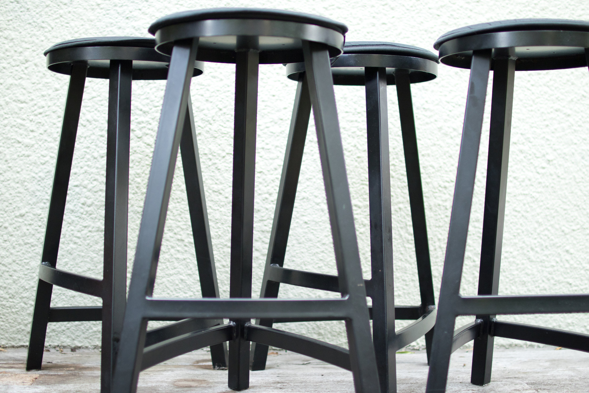Stool Set - Breakfast bar stools.