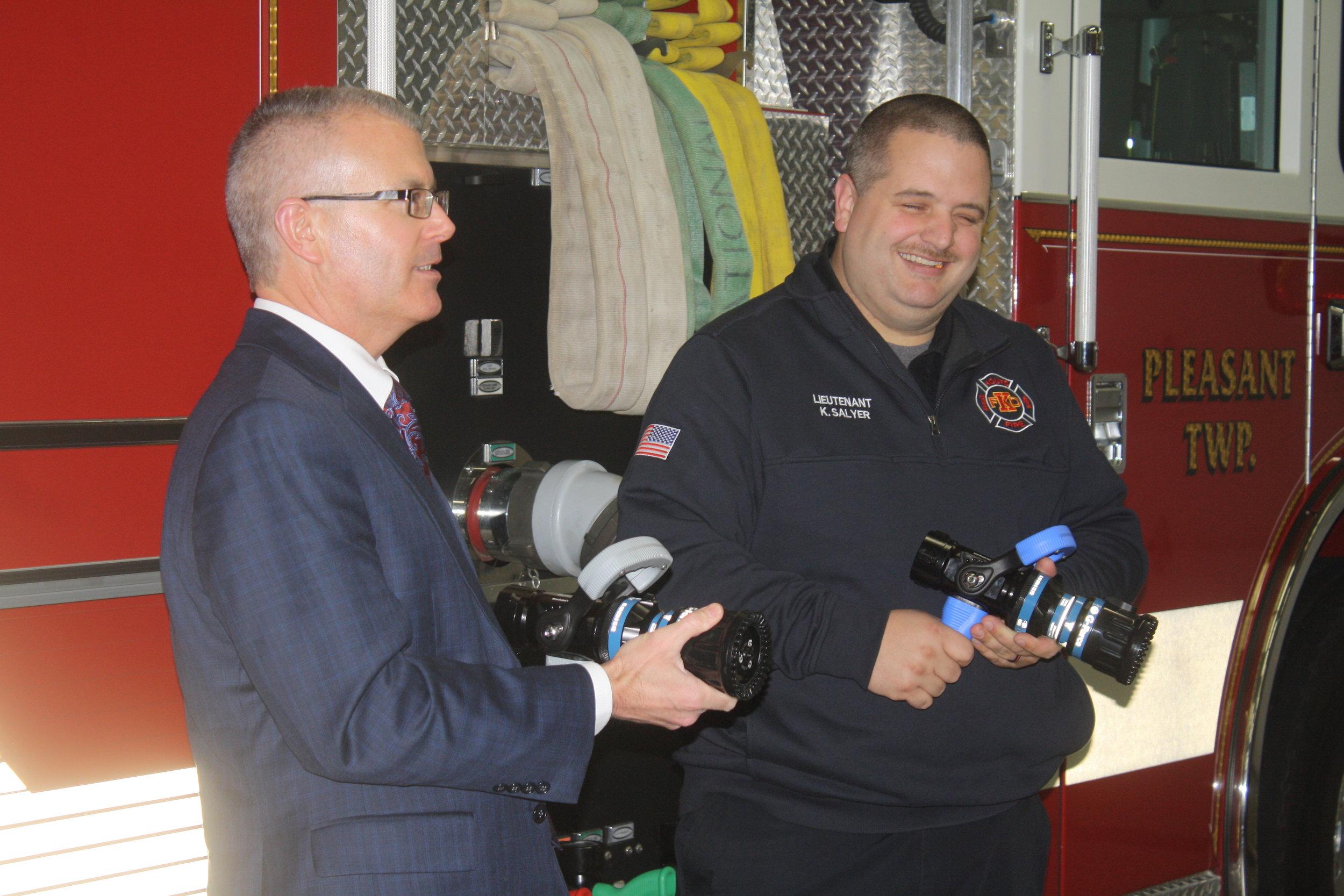 Kouts Fire Department Grant