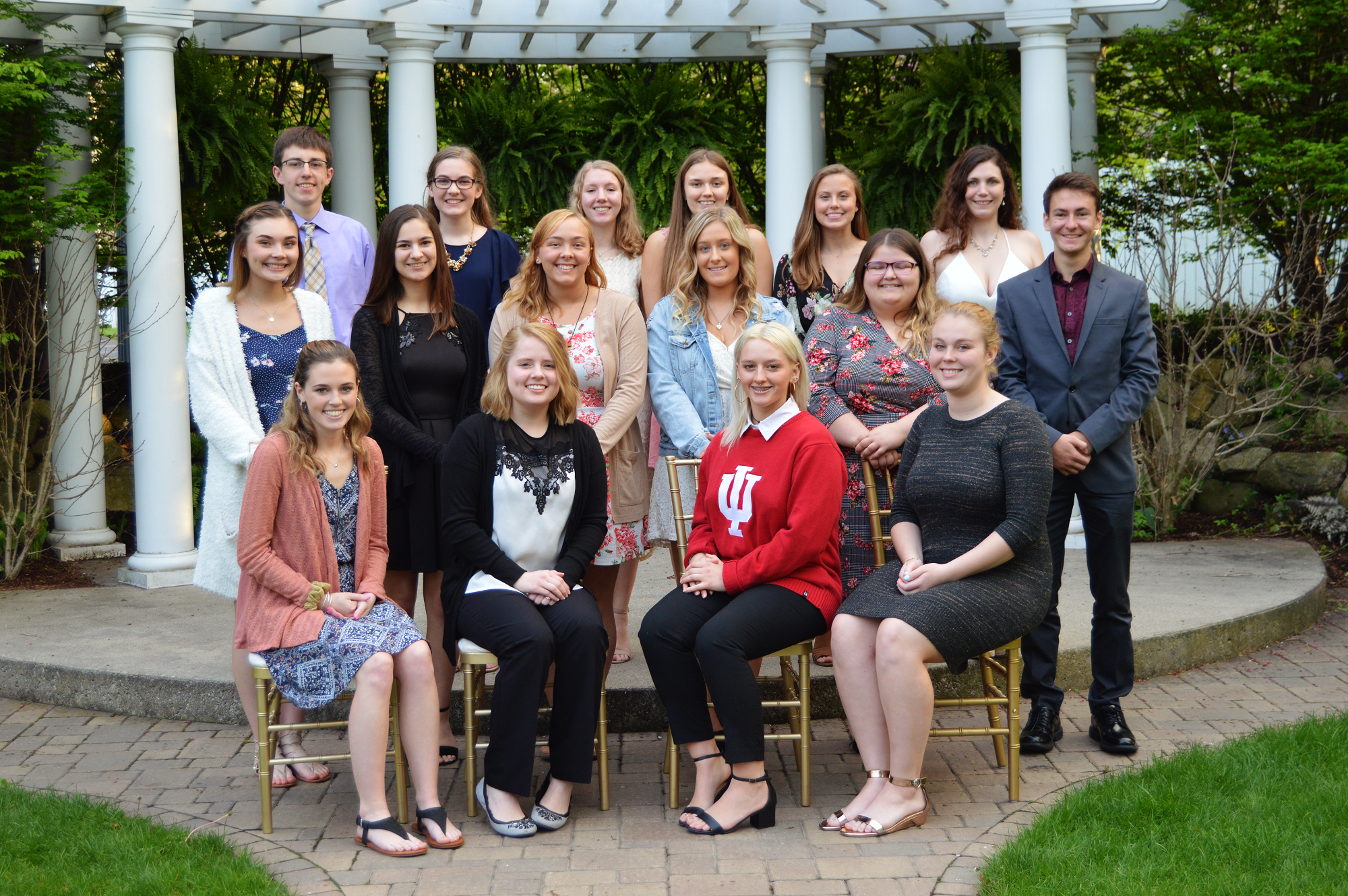 Over 25 Porter County High School Seniors were presented with scholarships from the Porter County Community Foundation at its annual Scholarship Banquet on May 9th.