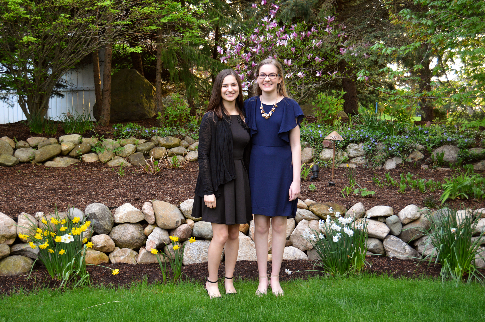 Lilly Endowment Community Scholars Vanessa Cardona (left) and Emma Johnson (right).