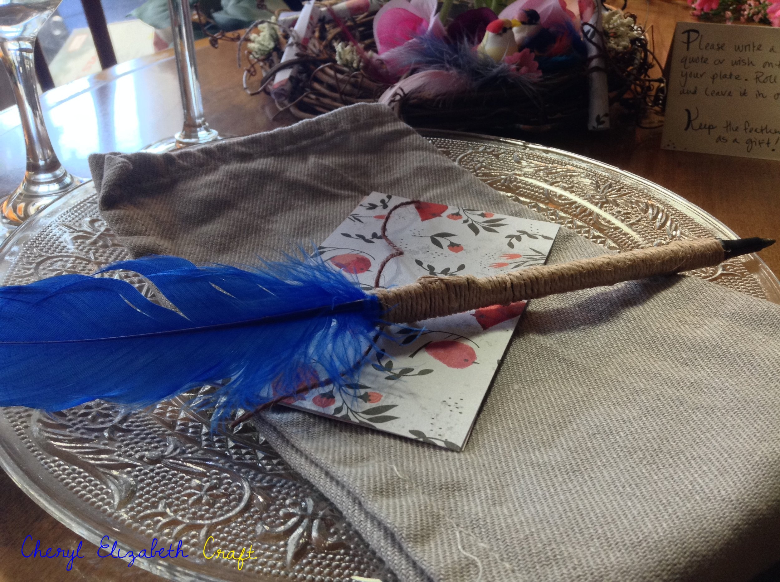 Feather Pen gifts