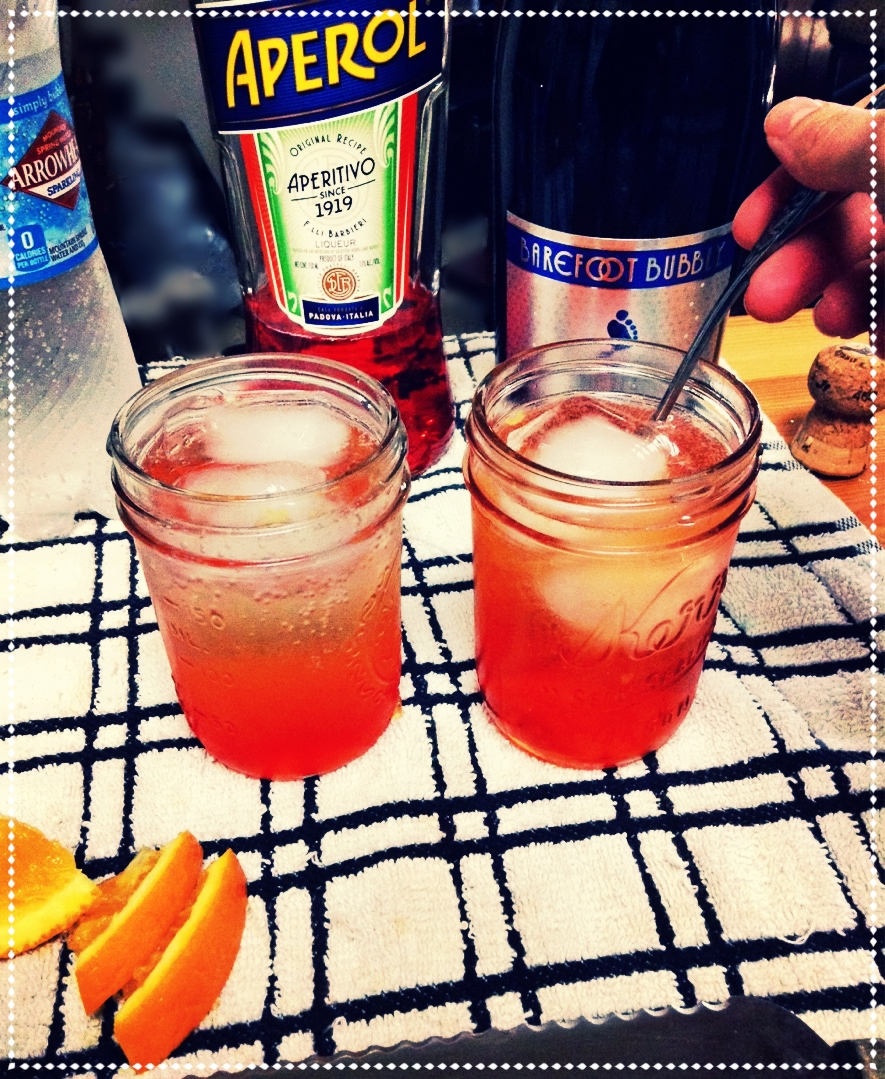 Aperol Spritz!  - My favorite summer cocktail! click for Recipe!