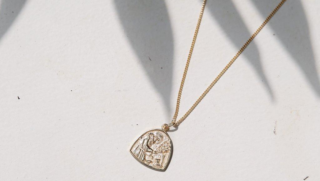 St. Francis of Assisi necklace PC: La Luna Rose