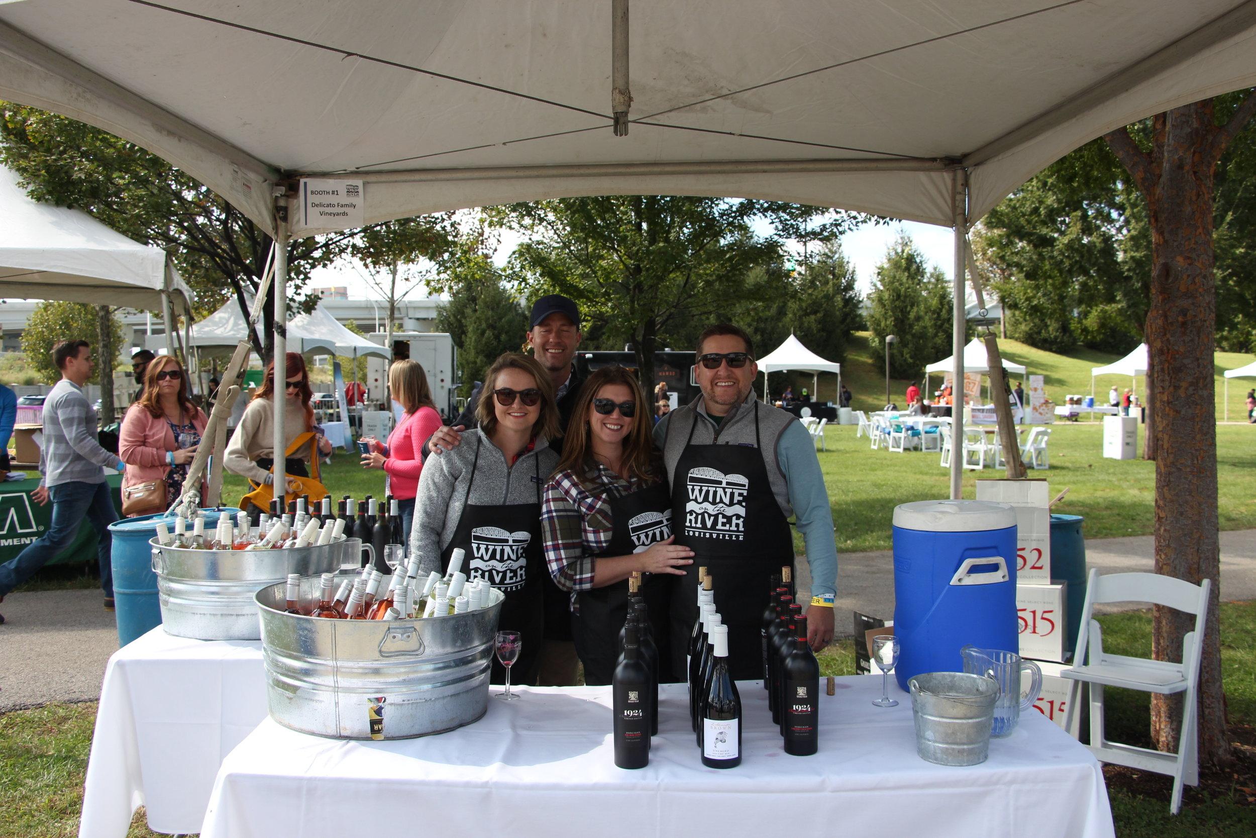 Volunteers posing Delicato Wines.jpg
