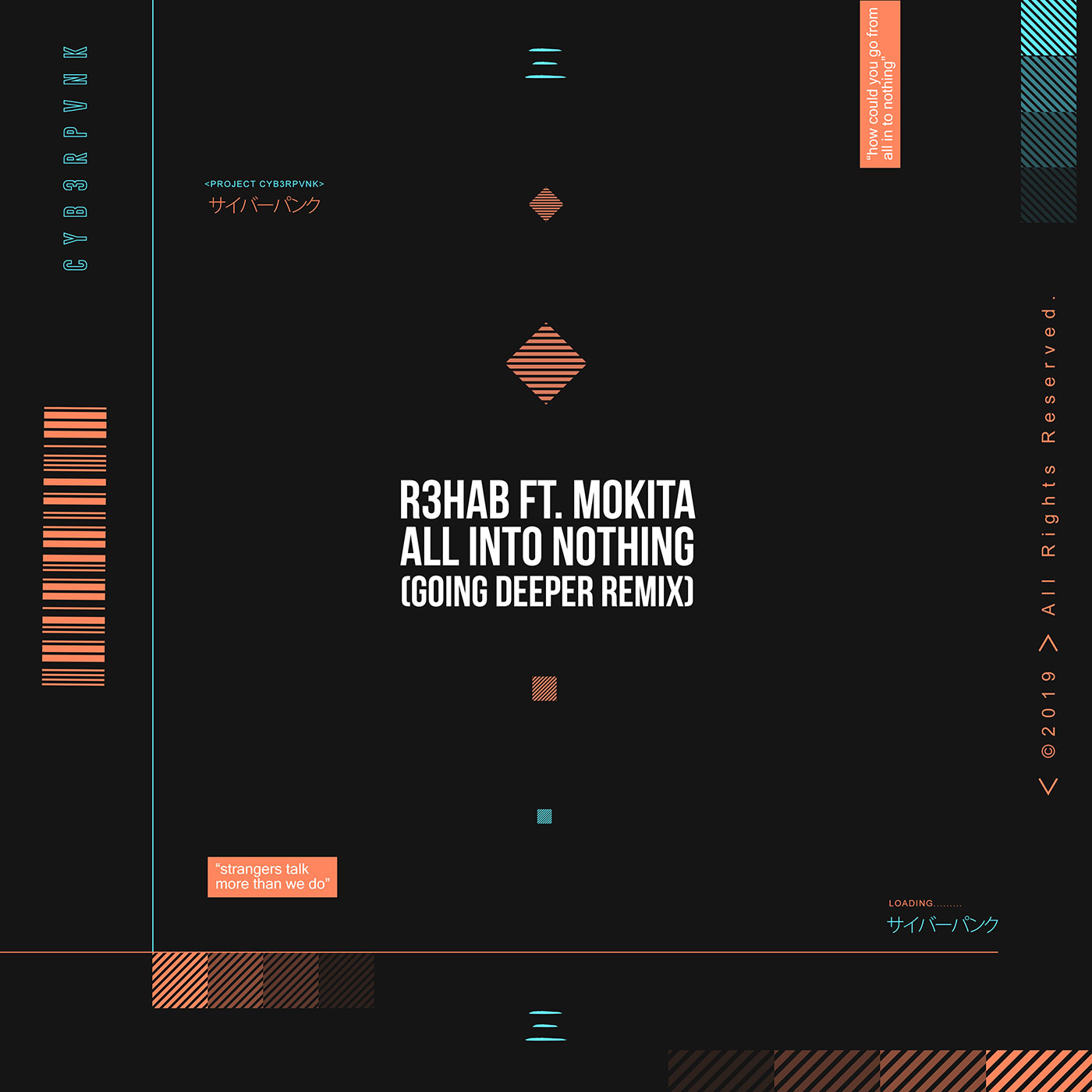 All Into Nothing (Going Deeper Remix) — CYB3RPVNK