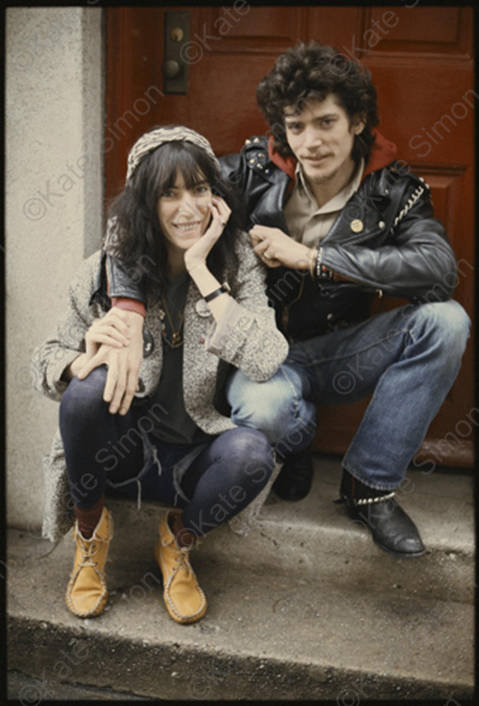 Patti Smith and Robert Mapplethorpe