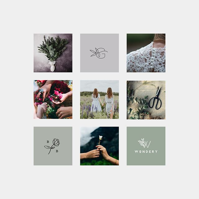 Capping off the week with a fresh, floral moodboard for a conceptual floristry branding project, Petite Blooms. . . The overall direction blends subtle femininity with a more modern and eclectic style. Scroll back through my feed to see the final logo design and submark 😊