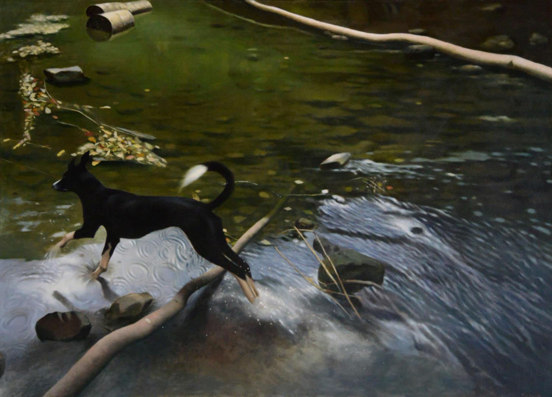 Sally Leaps The Stream