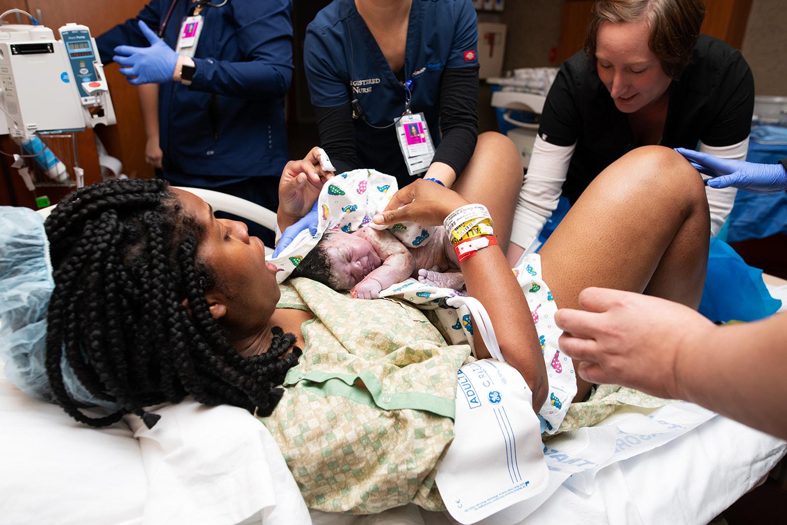 baby just born