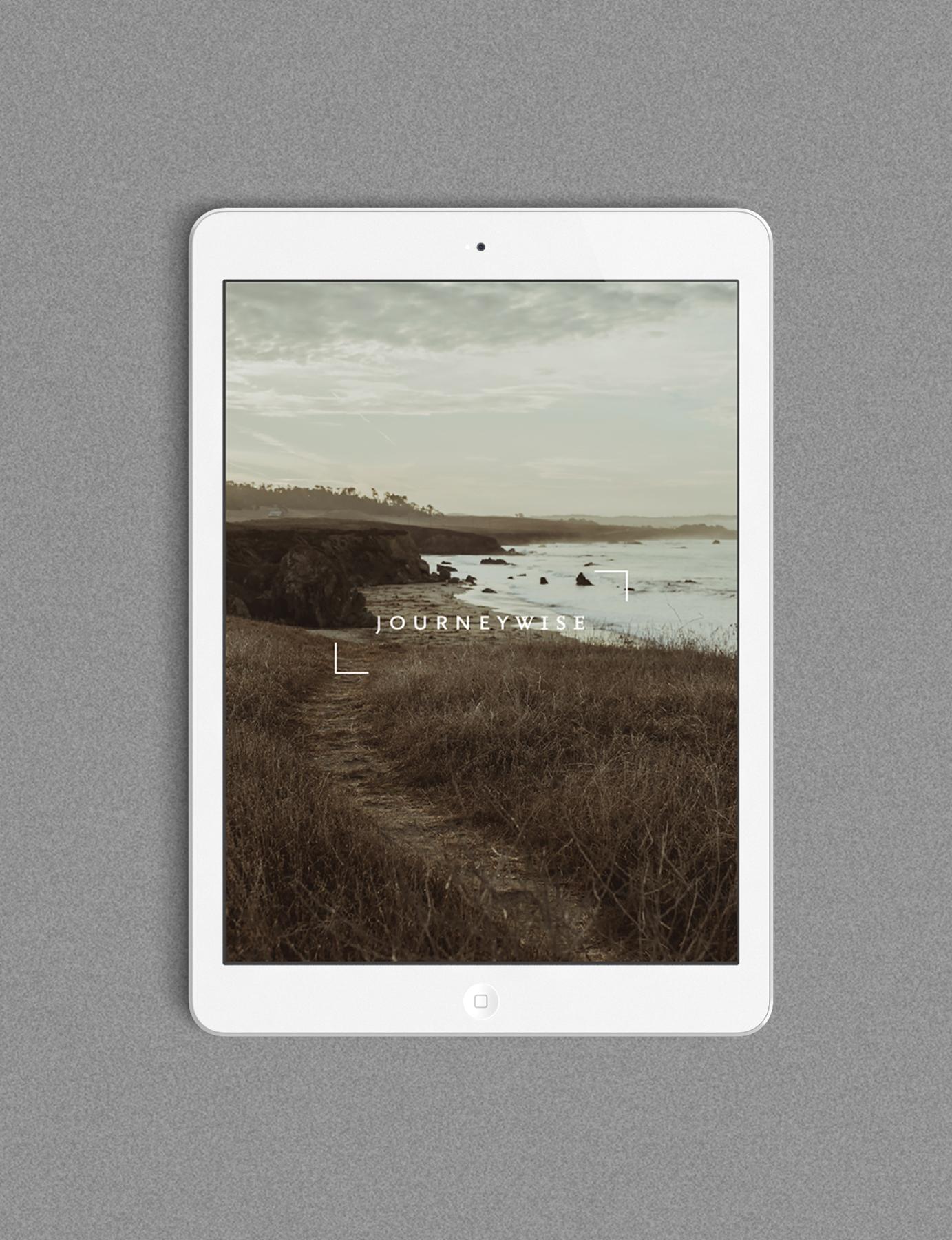 Journeywise iPad App Design