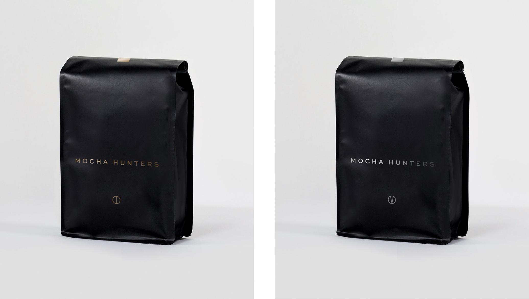 Mocha Hunters Coffee Bag Designs
