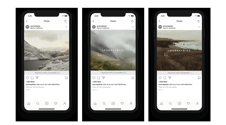 Journeywise Social Media Design