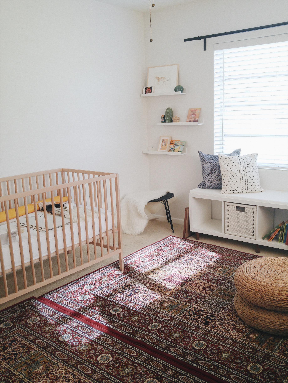 nursery ikea crib