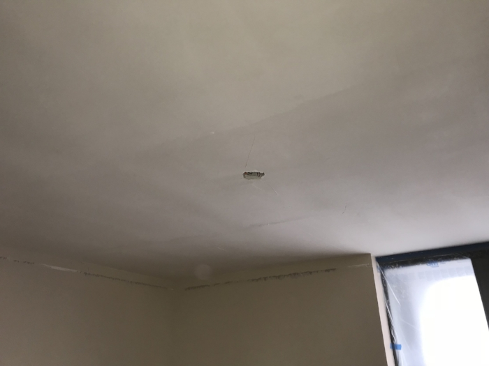 Popcorn ceiling removal | Custom Drywall and Painting
