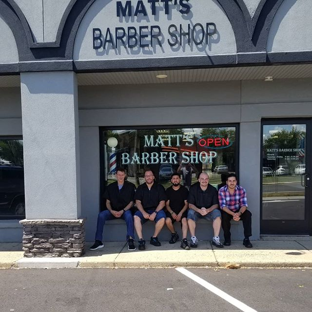 Your favorite Barbers will keep you fresh for the summer #barberteam #stayfresh #fades #combover #kidscuts #familybarbershop #flemingtonnj