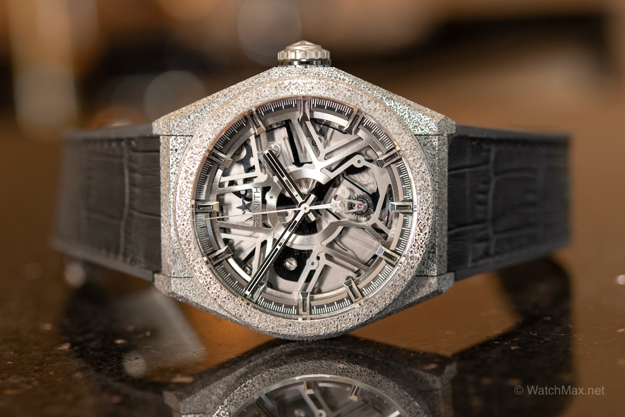 The revolutionary  Zenith Defy Lab  introduced in late 2017 with novel oscillator