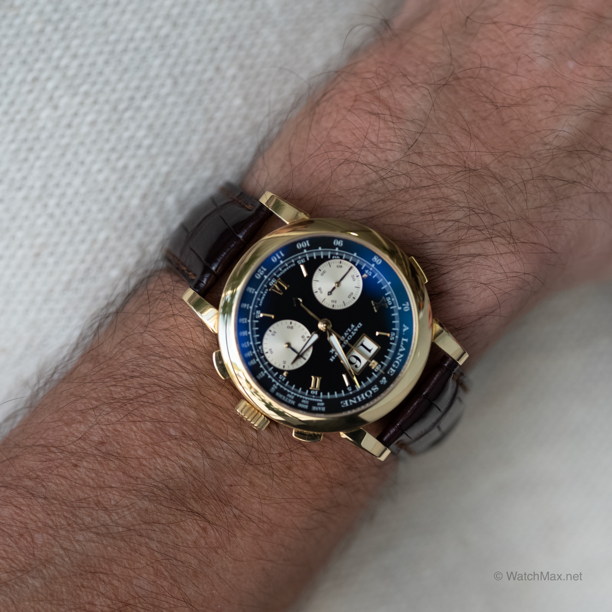 A. Lange & Söhne Datograph in yellow gold