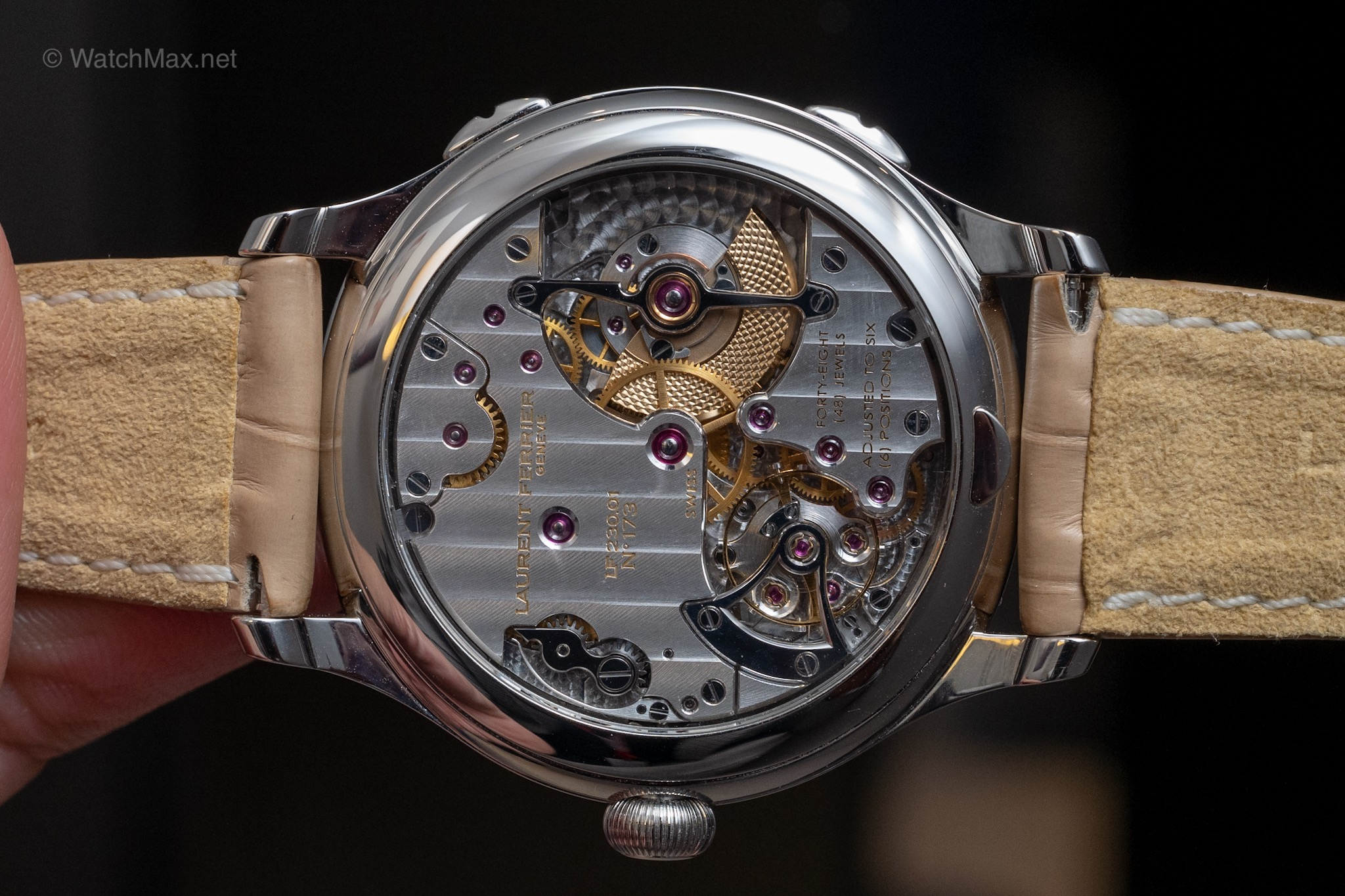 Laurent Ferrier self-winding calibre LF230.02 chronometer-certified by Besançon Observatory