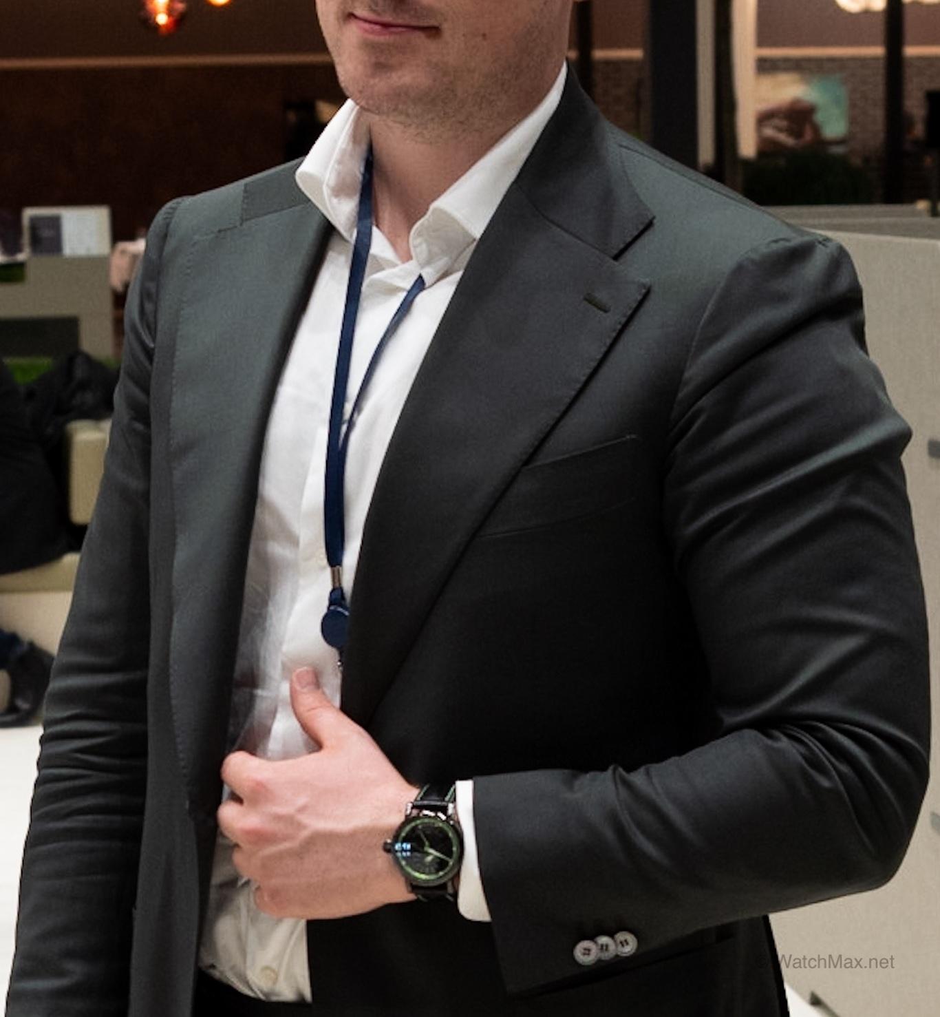 Swisswatchgang member of Zurich