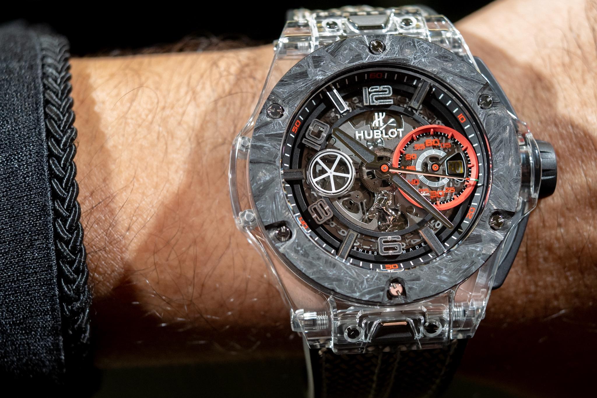 Big Bang Scuderia Ferrari 90th Anniversary watch in sapphire