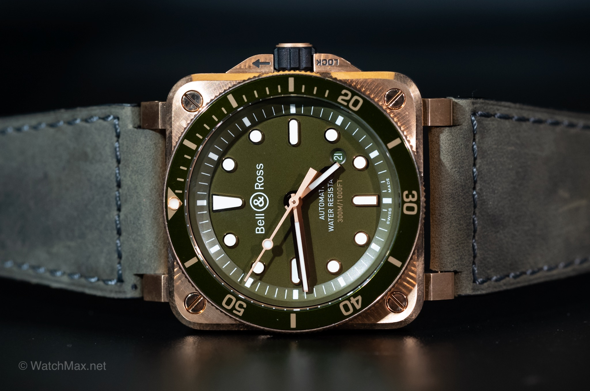 Bell & Ross BR-03 Bronze Diver
