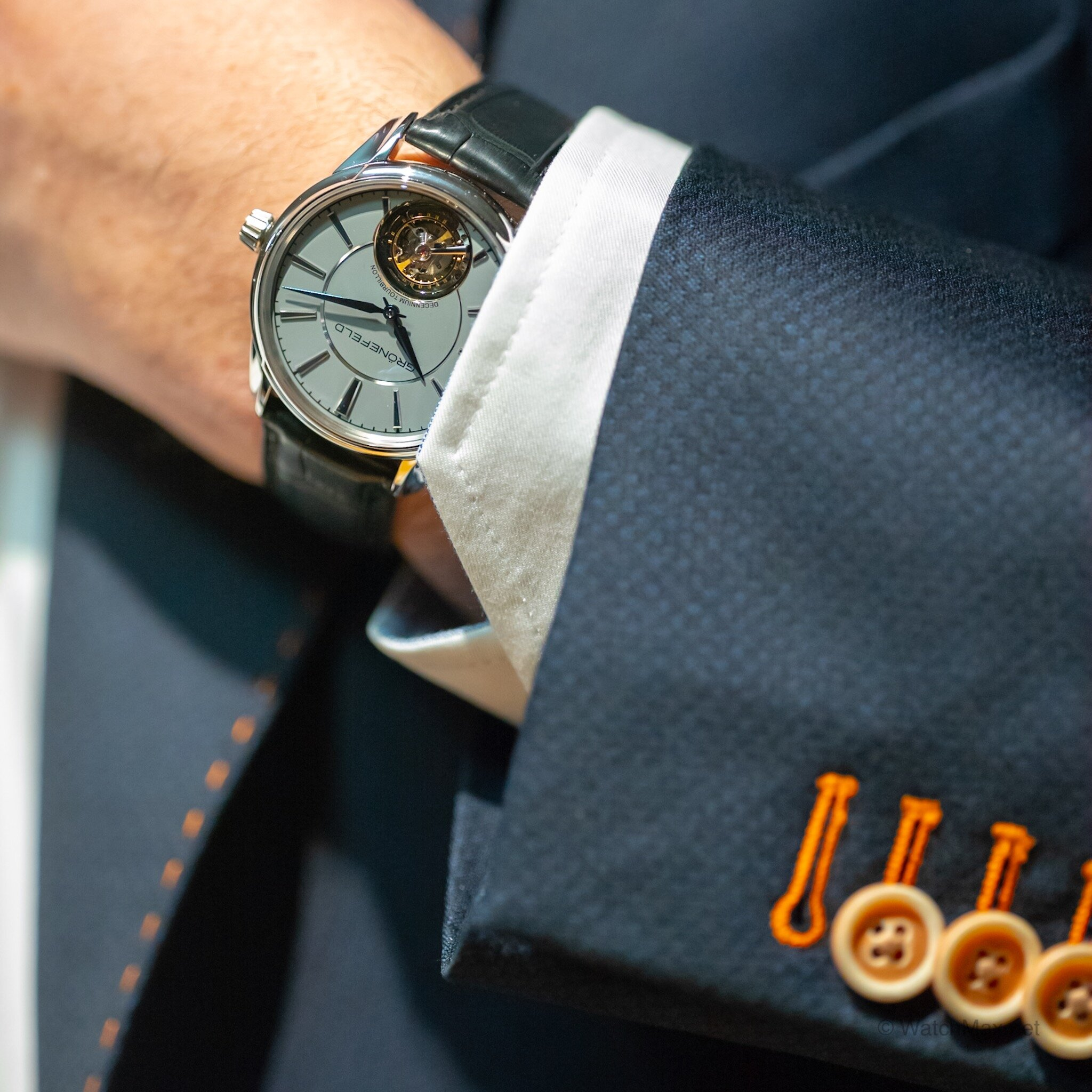 Grönefeld Decennium Tourbillon and 2019 Novelties First Look - The Horological Brothers are celebrating 10 years creating some of the most beautiful watches this side of Switzerland, in The Netherlands to be exact. What could the brothers show me for this special anniversary?Read on for a brief first look at a special anniversary limited edition watch, some 2019 novelties, and also an up coming summer special feature with them. Read more.